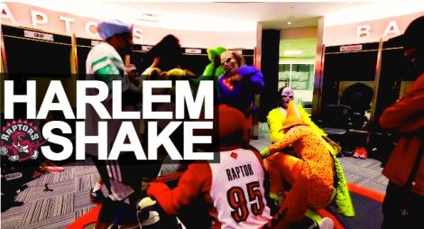 harlem Shake toronto raptors